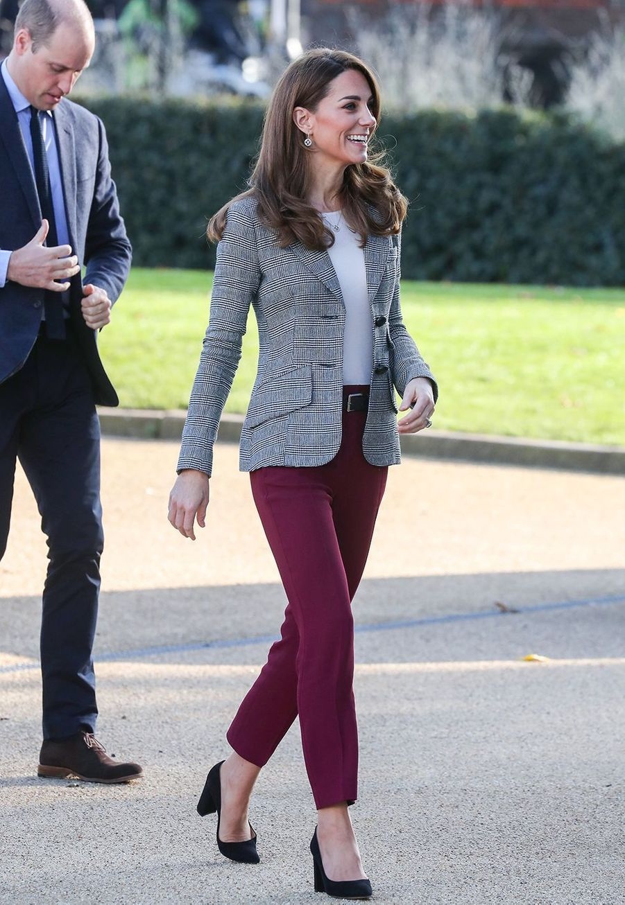 Kate Middleton et le prince William à Londres le 12 novembre 2019