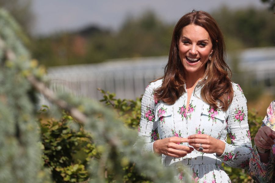 "Kate Middleton ""de retour dans la nature"" à Woking"