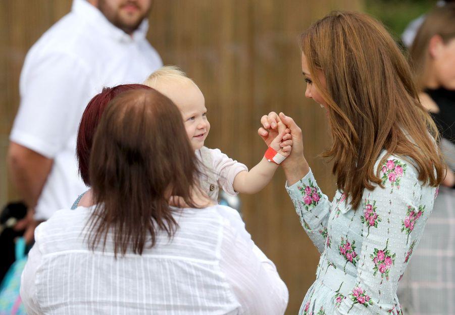 Kate Middleton àWoking (Surrey) le 10 septembre 2019