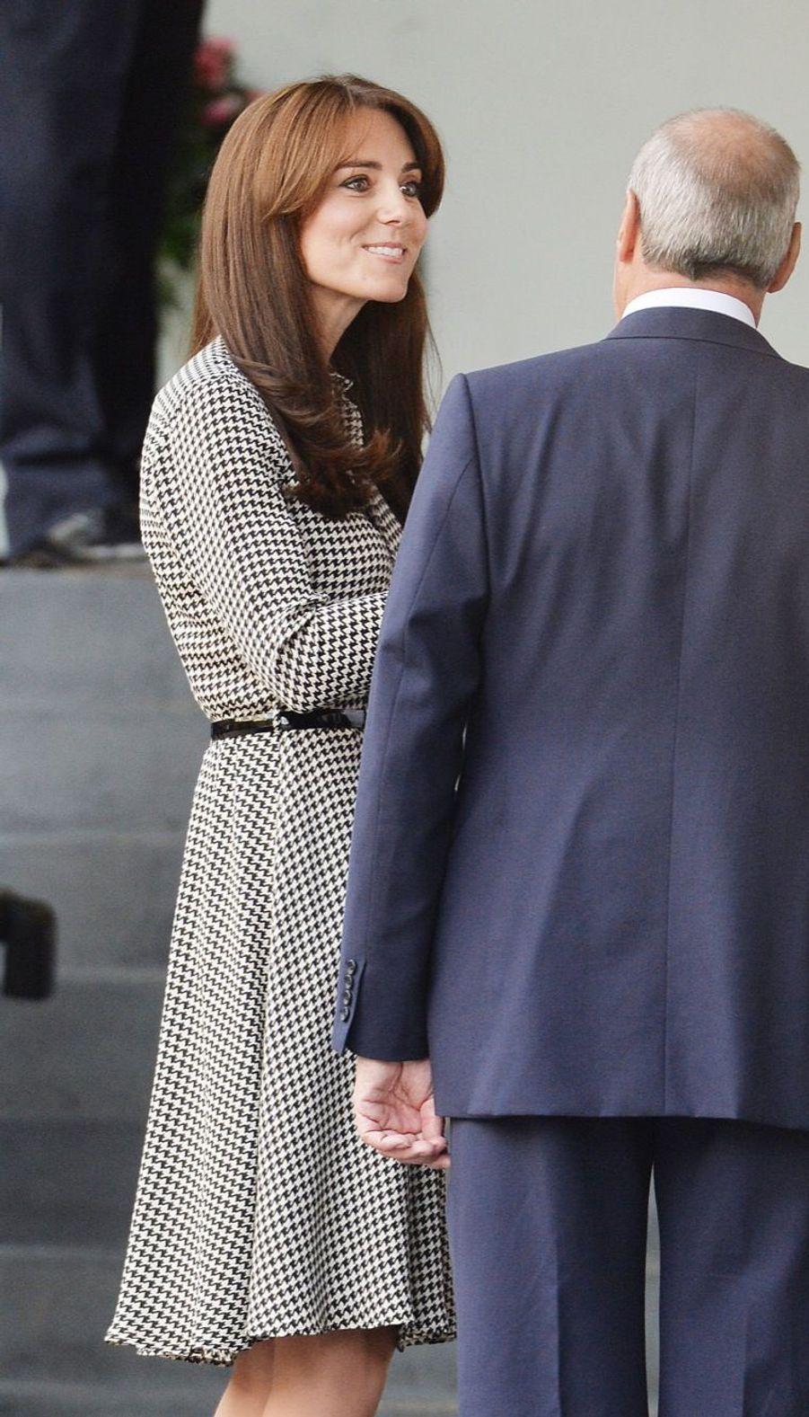 La duchesse de Cambridge, née Kate Middleton, a visité le Anna Freud Centre de Londres, ce jeudi 17 septembre