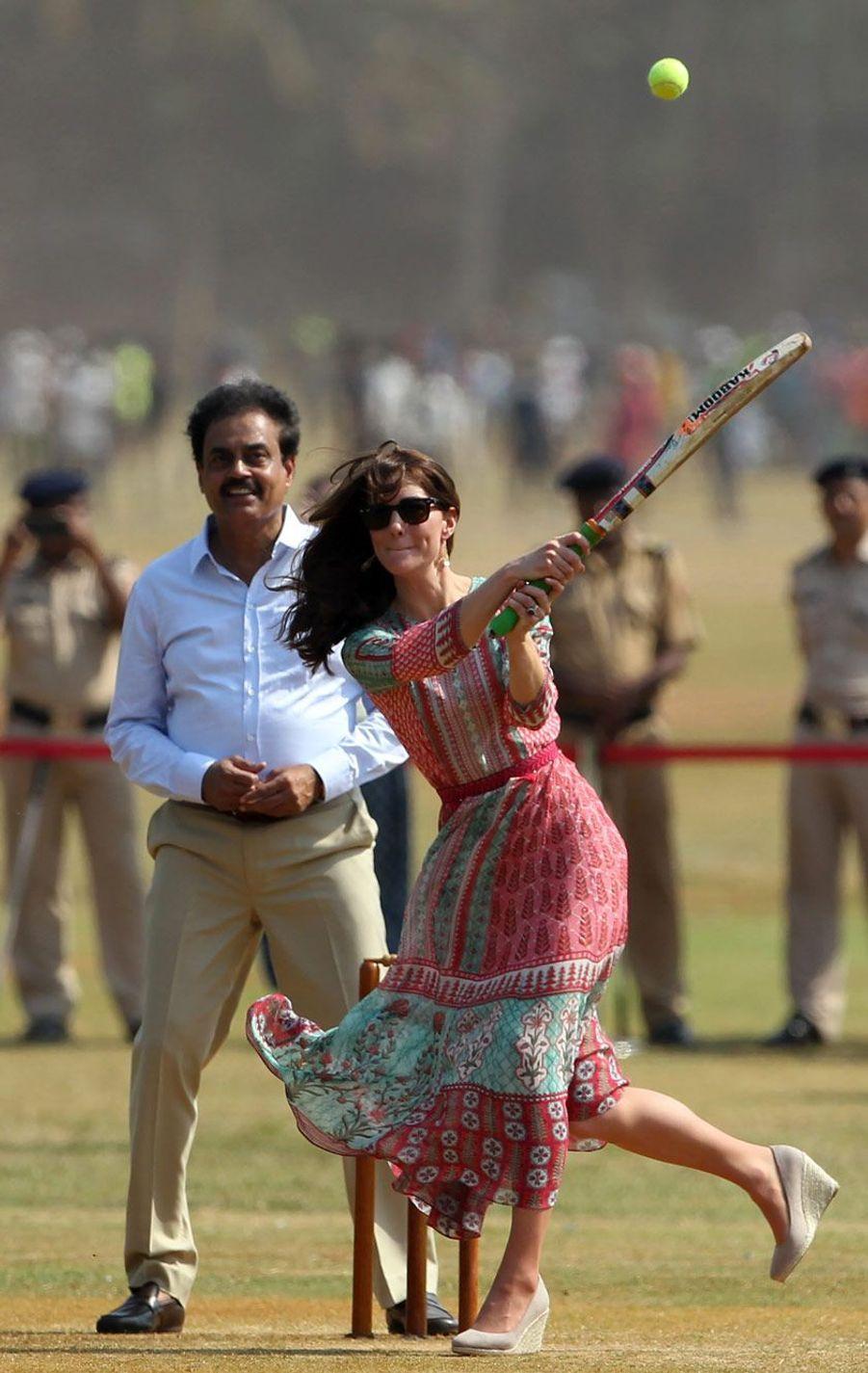 Kate, déjà reine... du cricket