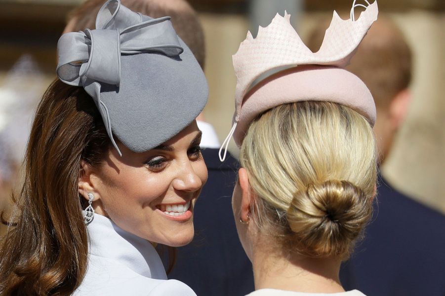 Kate Middleton et Zara Philips