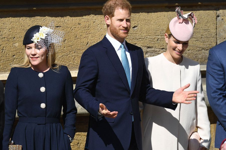 Autumn Philips, le prince Harry et Zara Philips
