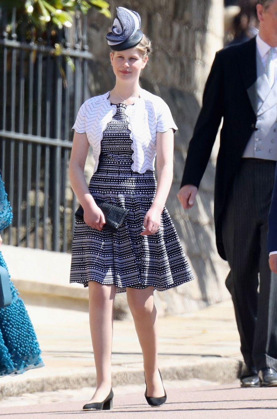 Lady Louise Windsor, le 19 mai 2018