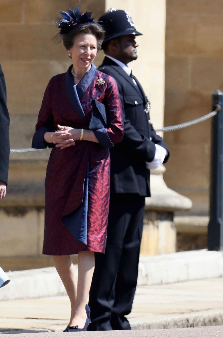 La princesse Anne, le 19 mai 2018