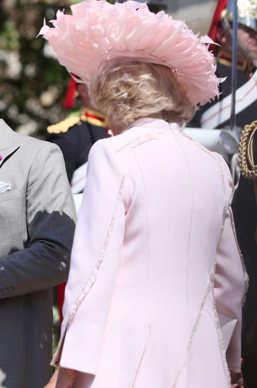 La duchesse de Cornouailles Camilla, le 19 mai 2018