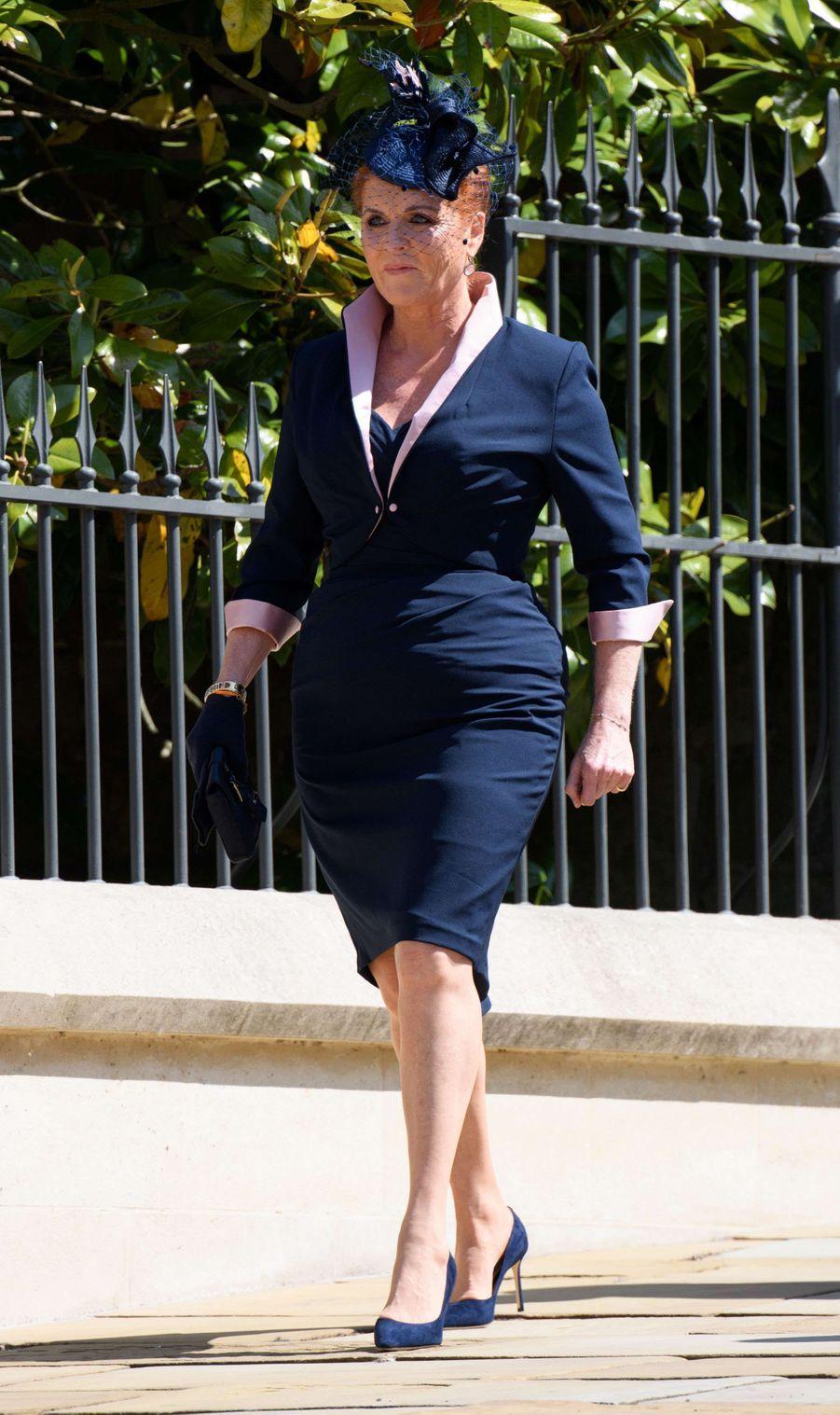 Sarah Ferguson le 19 mai 2018