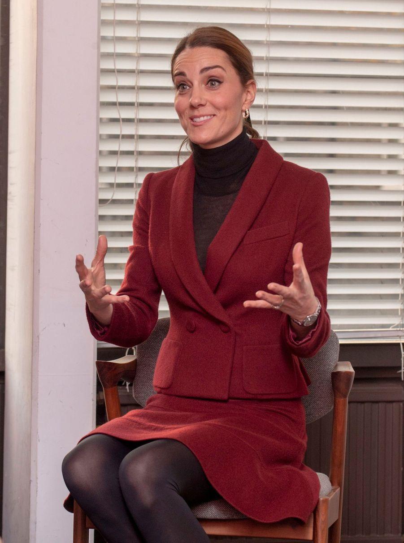 Kate En Visite À L'University College De Londres ( 10