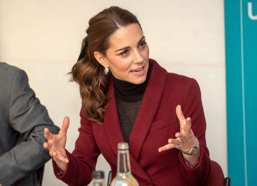 Kate En Visite À L'University College De Londres ( 12