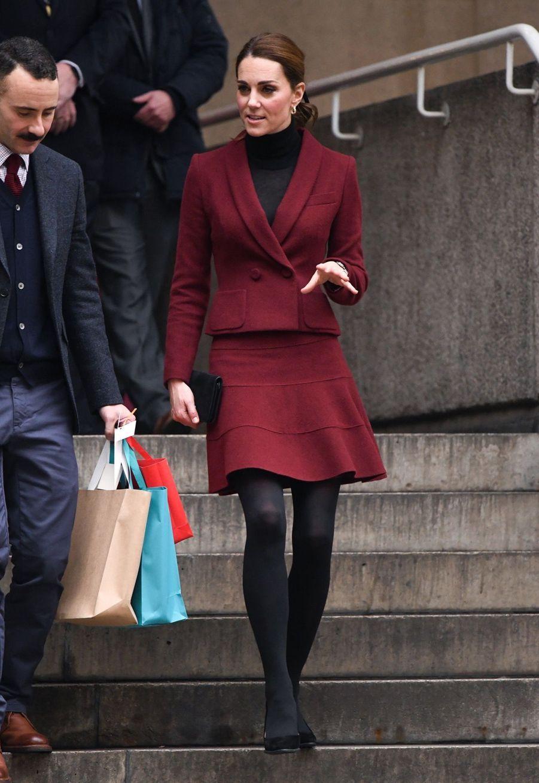 Kate En Visite À L'University College De Londres ( 14