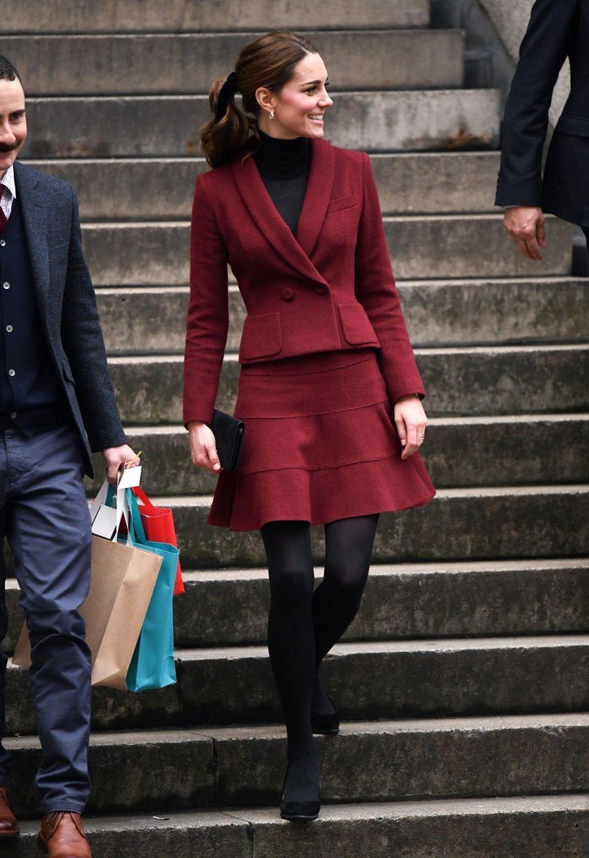 Kate En Visite À L'University College De Londres ( 15