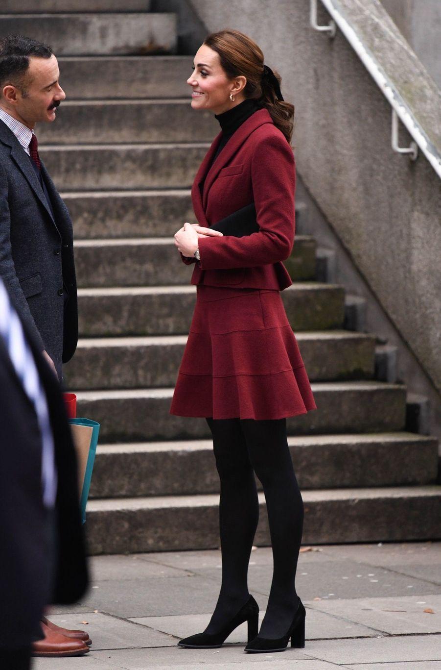Kate En Visite À L'University College De Londres ( 17
