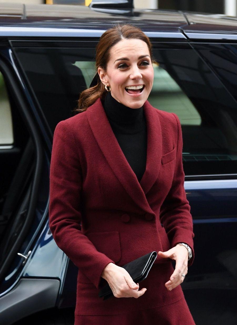 Kate En Visite À L'University College De Londres ( 2