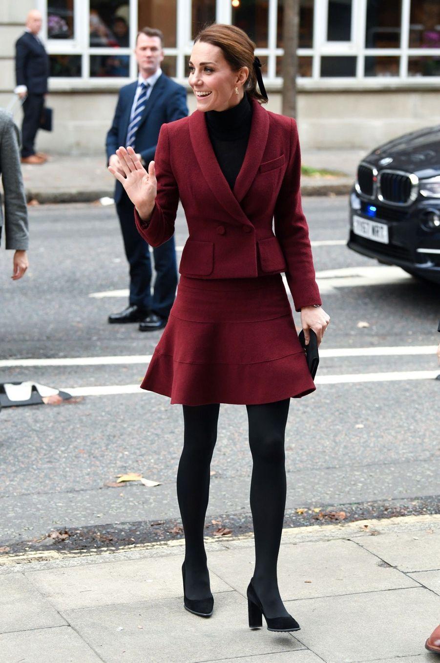 Kate En Visite À L'University College De Londres ( 3