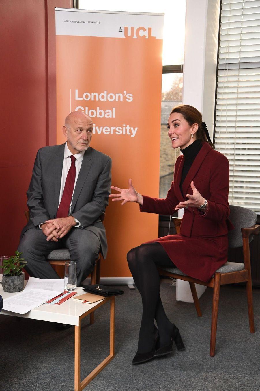 Kate En Visite À L'University College De Londres ( 7