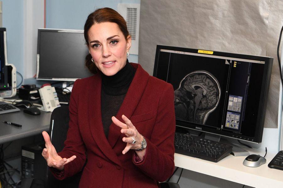 Kate En Visite À L'University College De Londres ( 8