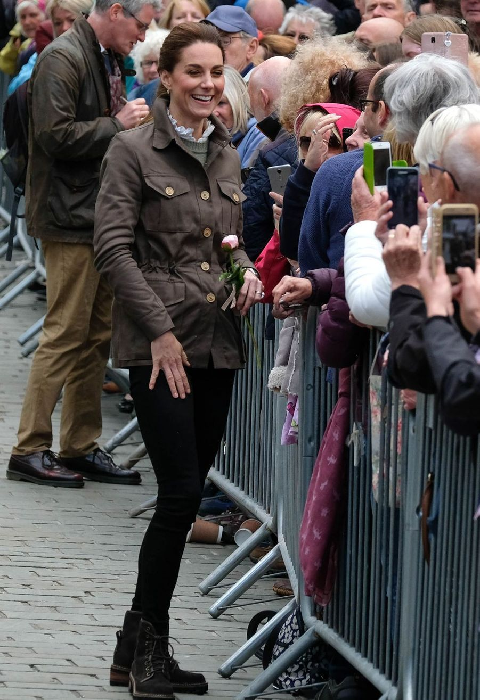 Kate Middleton en visite àKeswick le 11 juin 2019