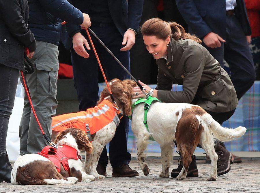 Le prince William et Kate Middleton en visite àKeswick le 11 juin 2019