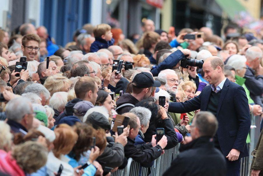 Le prince William en visite àKeswick le 11 juin 2019