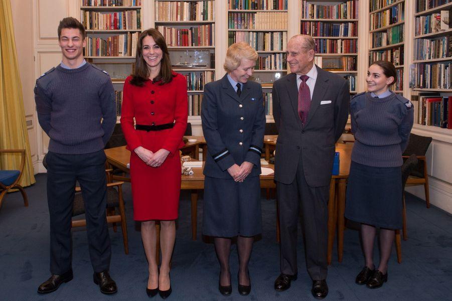 Kate, premier lieutenant du prince Philip