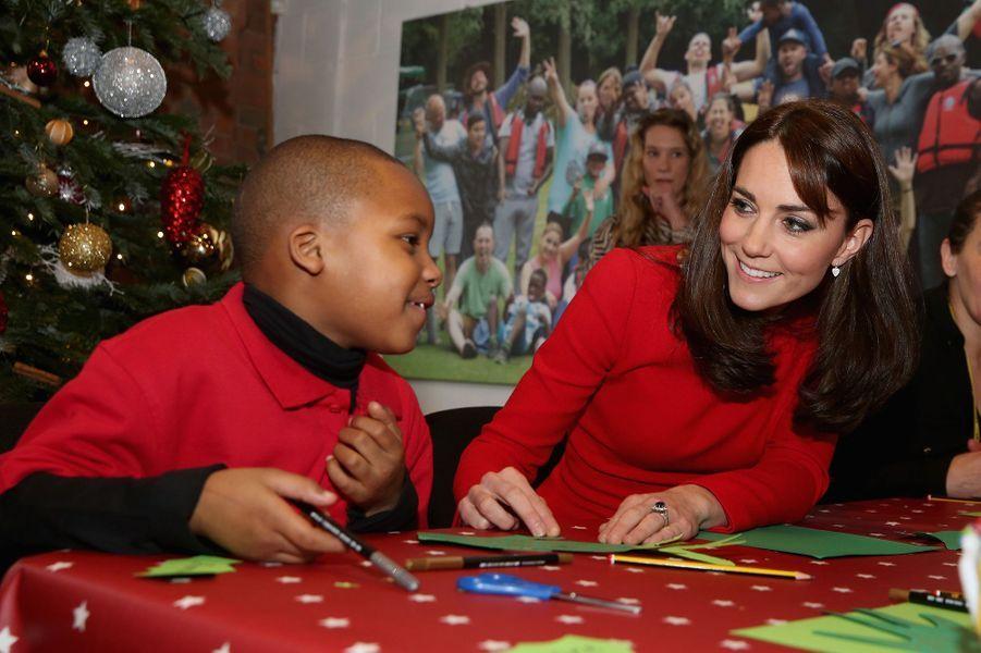 Kate, un tamtam pour appeler le père Noël