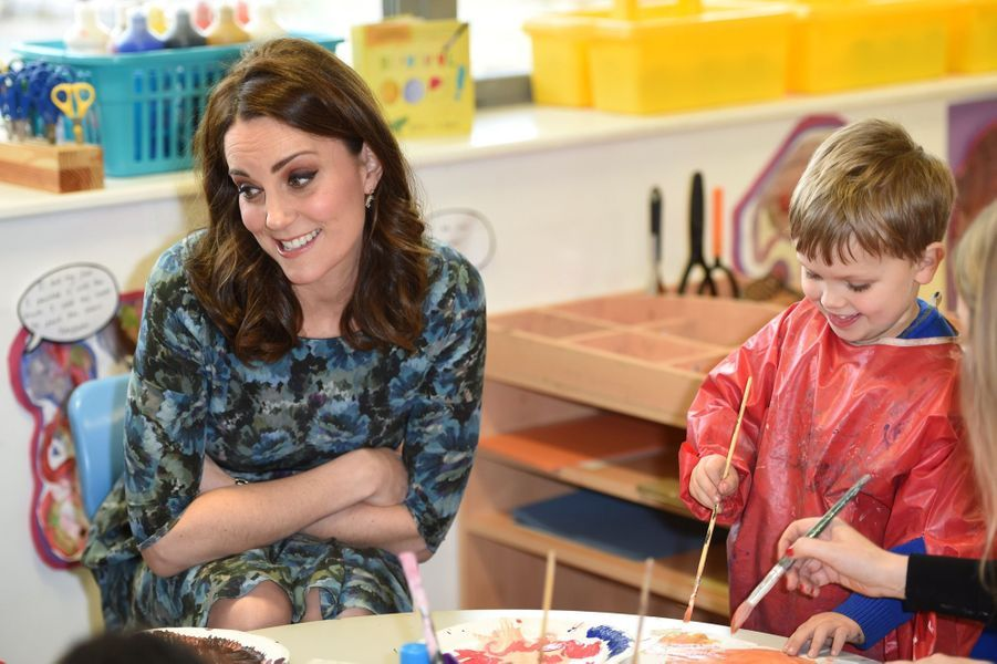 Kate Middleton En Visite À La Reach Academy De Feltham 21