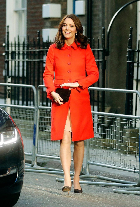 Kate Middleton Enceinte Au Chevet De Rafael, Au Great Ormond Street Hospital 04
