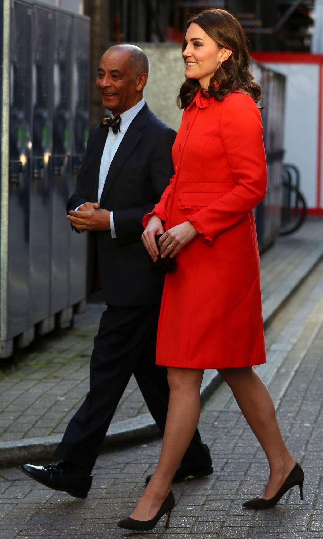 Kate Middleton Enceinte Au Chevet De Rafael, Au Great Ormond Street Hospital 09