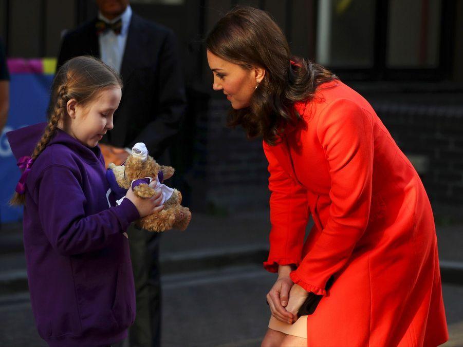 Kate Middleton Enceinte Au Chevet De Rafael, Au Great Ormond Street Hospital 11