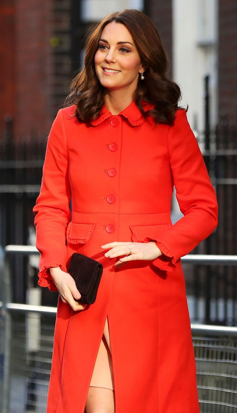 Kate Middleton Enceinte Au Chevet De Rafael, Au Great Ormond Street Hospital 12