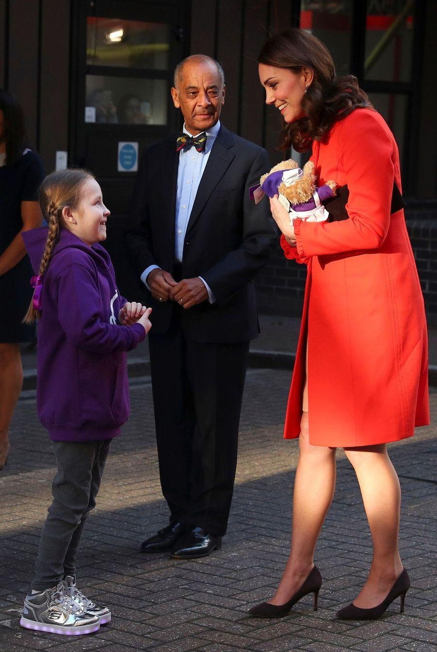 Kate Middleton Enceinte Au Chevet De Rafael, Au Great Ormond Street Hospital 13