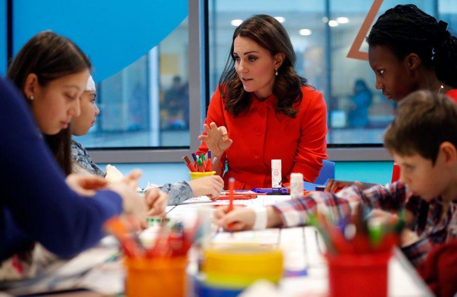 Kate Middleton Enceinte Au Chevet De Rafael, Au Great Ormond Street Hospital 16