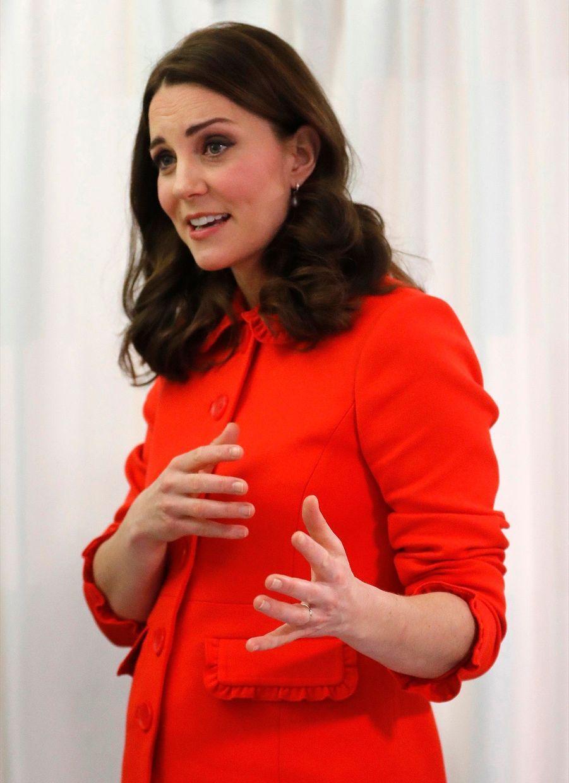 Kate Middleton Enceinte Au Chevet De Rafael, Au Great Ormond Street Hospital 17