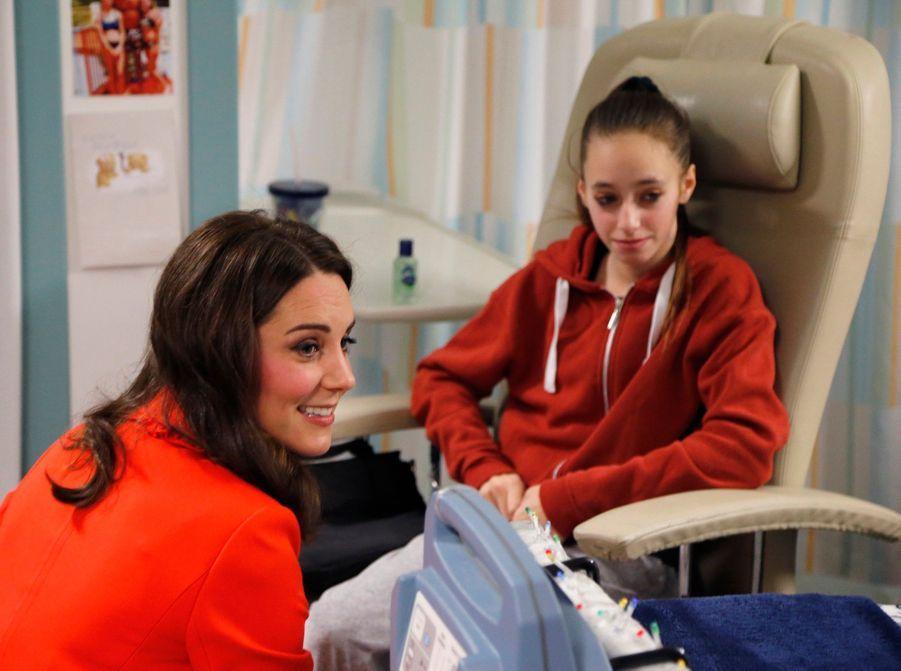 Kate Middleton Enceinte Au Chevet De Rafael, Au Great Ormond Street Hospital 22