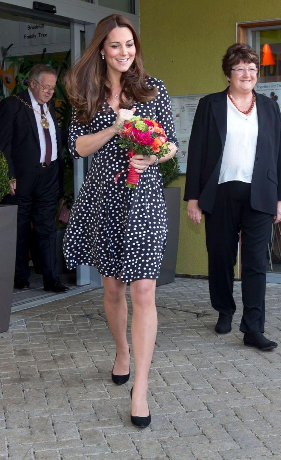 Kate laisse échapper la date de l'accouchement