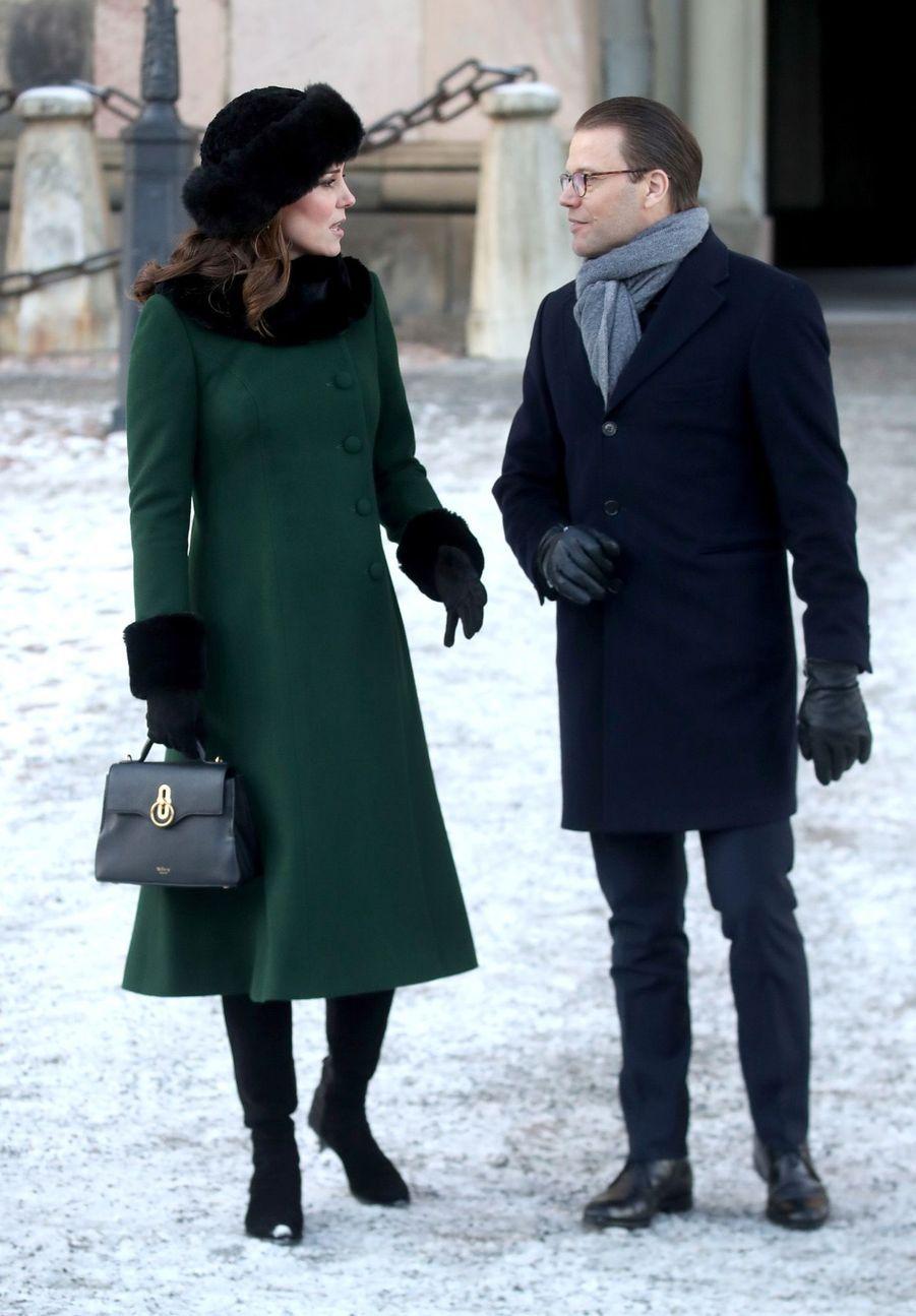 Kate Middleton Et Victoria De Suède, Les Retrouvailles 1