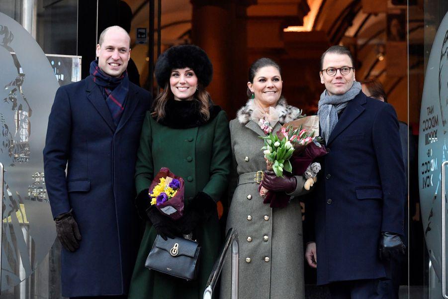 Kate Middleton Et Victoria De Suède, Les Retrouvailles 10