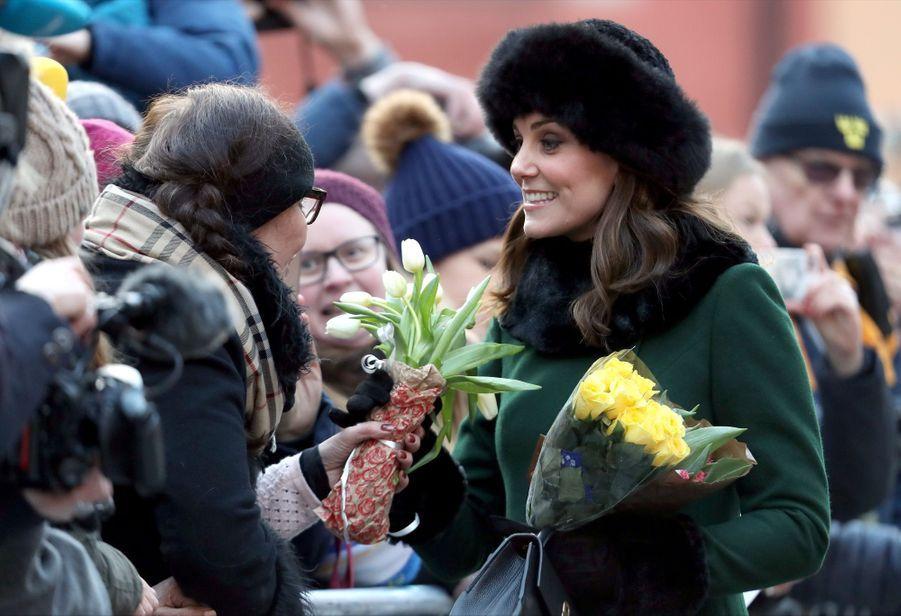 Kate Middleton Et Victoria De Suède, Les Retrouvailles 12