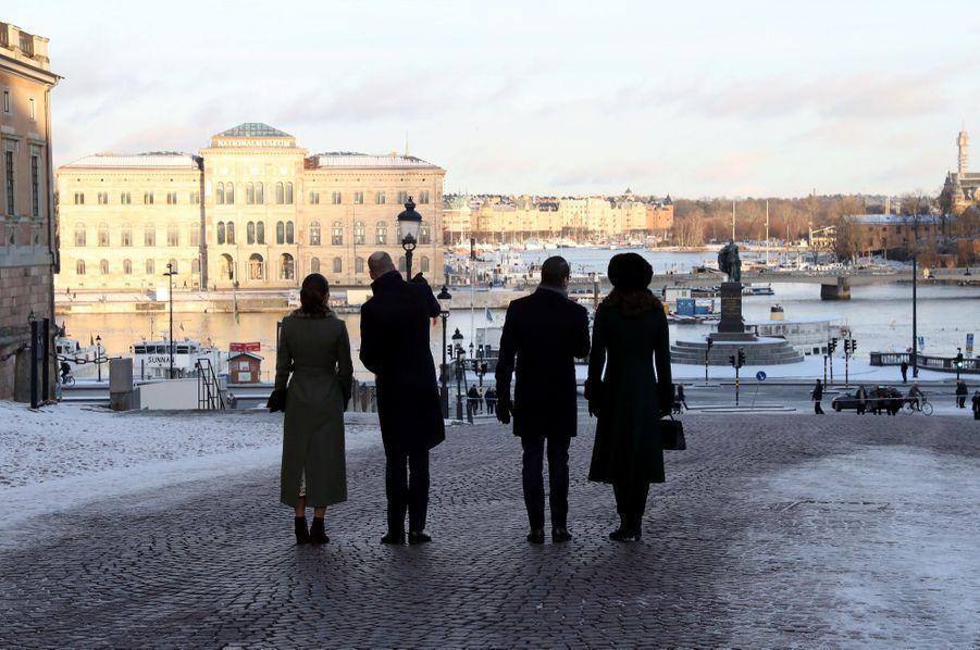 Kate Middleton Et Victoria De Suède, Les Retrouvailles 2