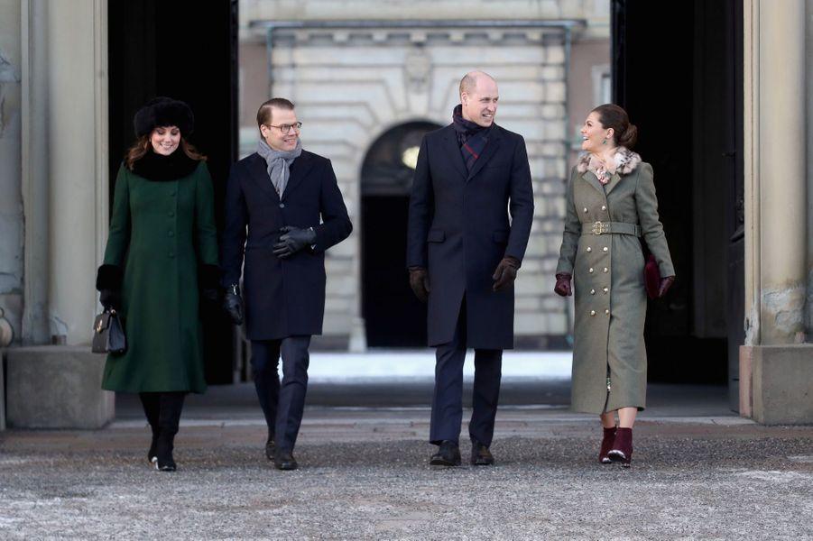 Kate Middleton Et Victoria De Suède, Les Retrouvailles 3