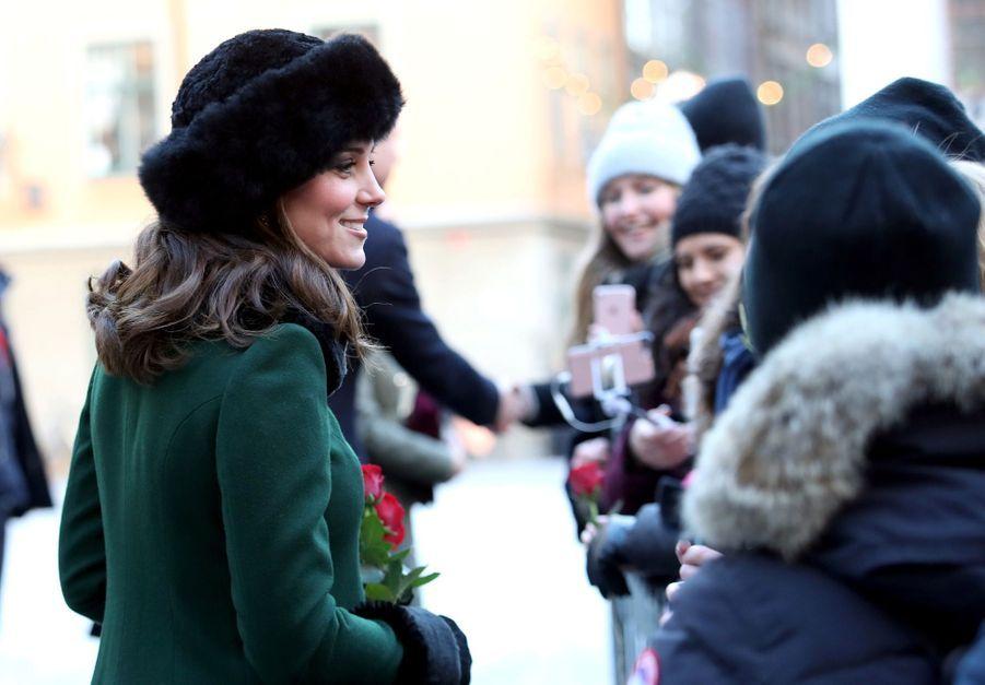 Kate Middleton Et Victoria De Suède, Les Retrouvailles 4