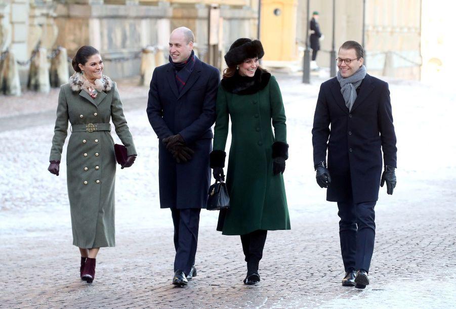 Kate Middleton Et Victoria De Suède, Les Retrouvailles 5