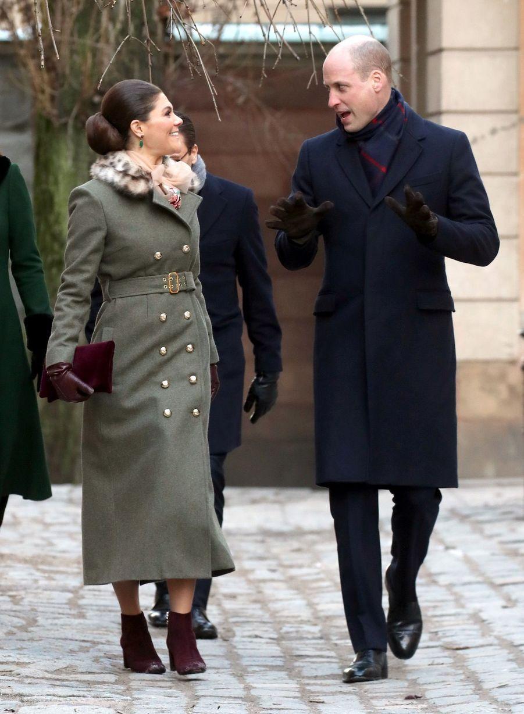 Kate Middleton Et Victoria De Suède, Les Retrouvailles 7