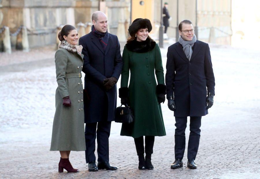 Kate Middleton Et Victoria De Suède, Les Retrouvailles 9