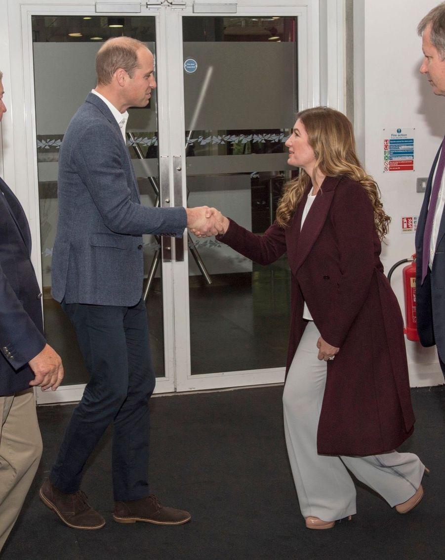 Kate, William Et Harry En Visite Au Stade De West Ham United 13