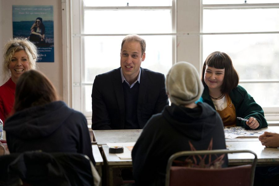 Le prince William à Caernarfon, le 20 novembre 2015