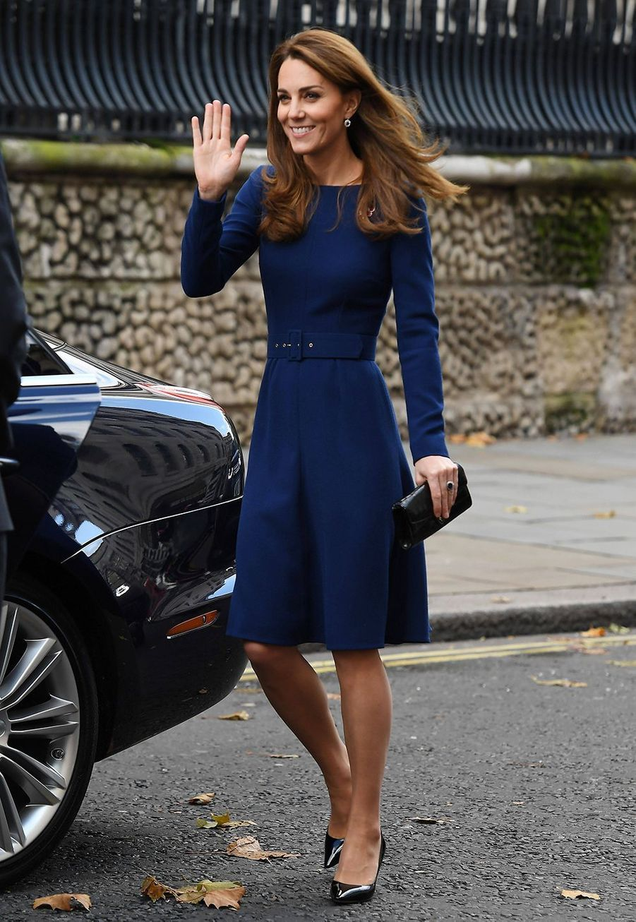 Kate Middleton lors de la journée du lancement de l'association National Emergencies Trust à l'église St Martin-in-the-Fields à Londres, le jeudi 7 novembre.