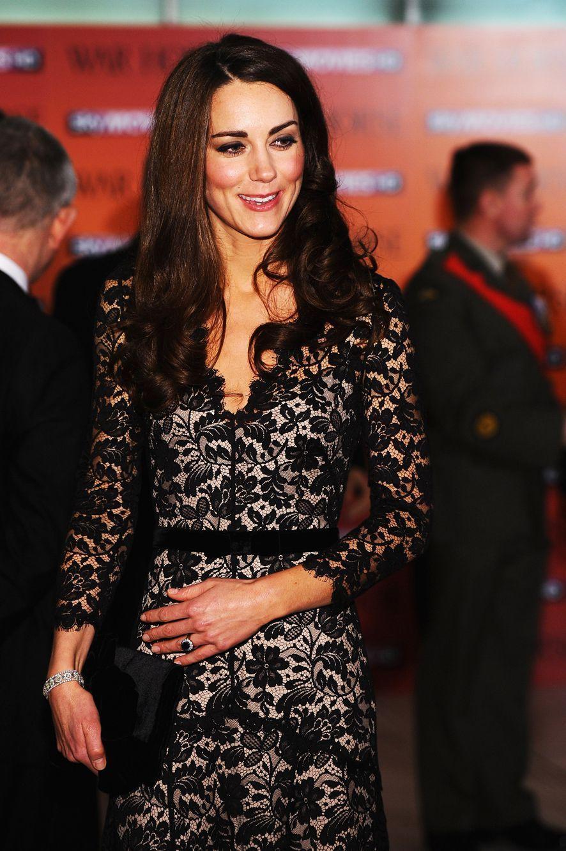 Kate, à la veille de son 30e anniversaire, le 8 janvier 2012