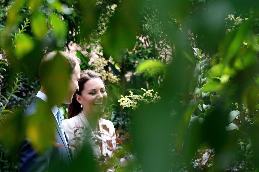 Kate et William à Singapour pour le Jubilé de la reine Elizabeth, en septembre 2012