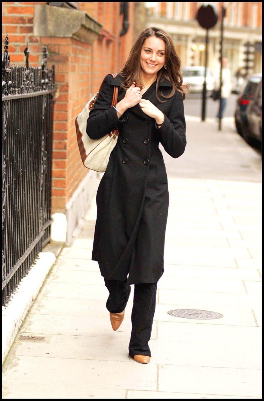 Kate Middleton en 2006 à Londres